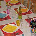 anniversaire - couleur pop - arbre à bonbon