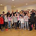 Les petits buxangeorgiens du cme sont allés visiter l'ime (l'institut médico-educatif) de bussy saint-georges.