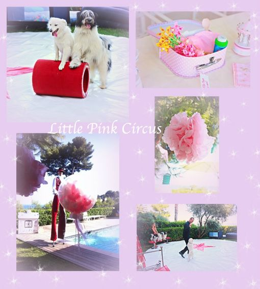 LITTLE PINK CIRCUS THEME
