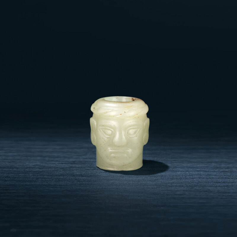 2019_HGK_17742_2752_000(a_yellow_jade_carving_of_a_head_shijiahe_culture_circa_2500-2000_bc)