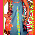 «Janis and co» collector n°1011103017 Robe chasuble multi-saison Taille 38/ 40/42