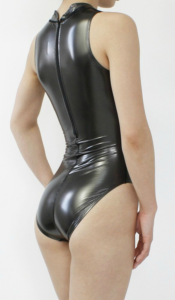 Realise swimsuit N-007sh Black Profile back