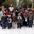 Les enfants de cappelle la grande a la recherche de saint nicolas