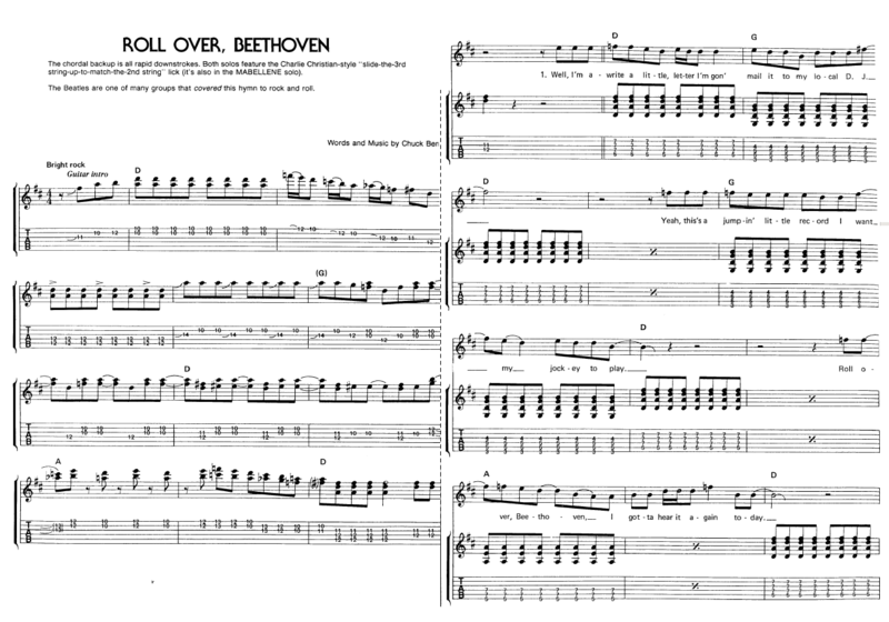 Roll iver, Beethoven 01
