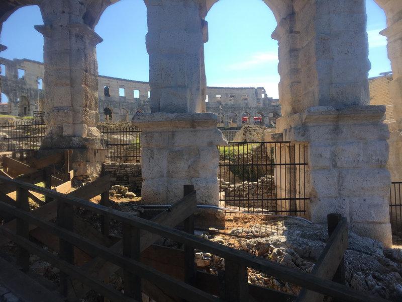 Pula, l'amphithéâtre romain le mieux conservé, vendredi 19 mars 2021 (2)