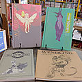 Claire wendling, de beaux art-books import dispos à la farfa'
