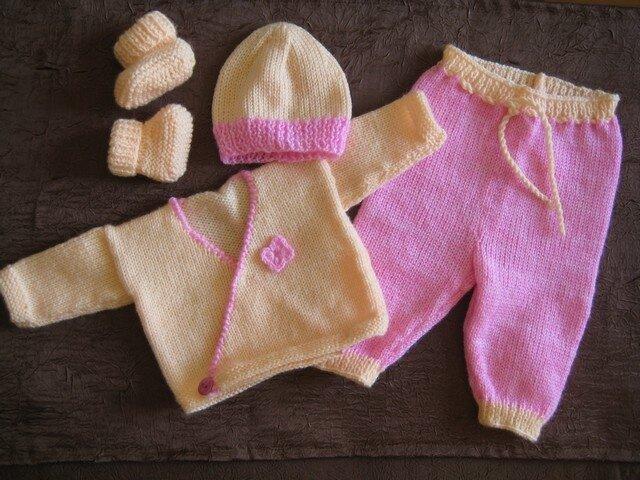 Explications pour réaliser le pantalon prémas (aig.n° 3)