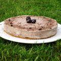Cheesecake très chic façon forêt noire!
