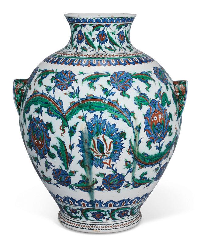 2020_CKS_18371_0010_001(an_impressive_iznik-style_pottery_vase_ulisse_cantagalli_florence_ital)