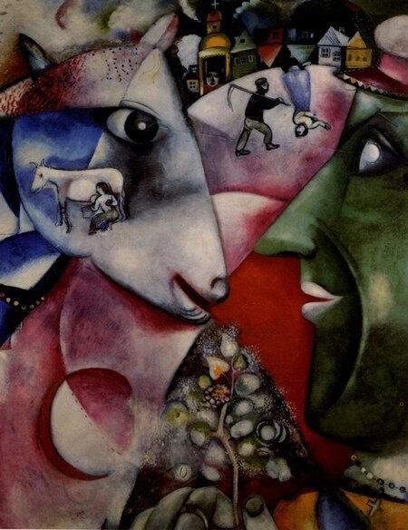 Le village de Chagall