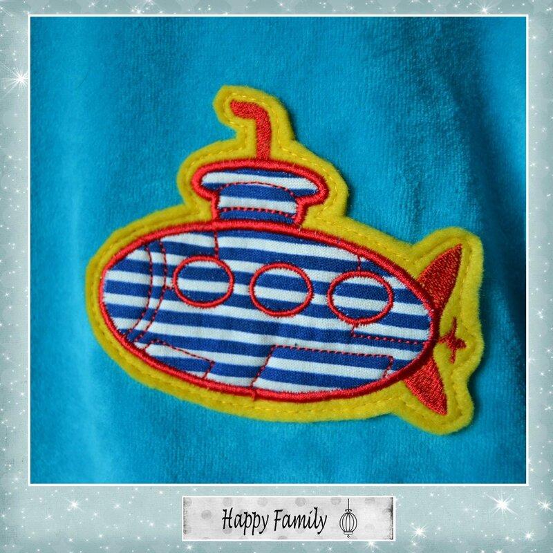 pyjama sous marin 2