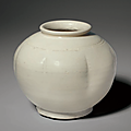 A Northern white-ware lobed jar, Northern Song dynasty (AD 960-1127)