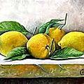Citron confit au sirop d'agave