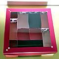 Boîte à bijoux - déclinaison de rose et feuille métallisée lèvres vermeilles