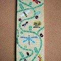 mosaïque papillons