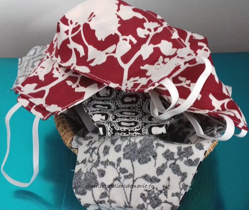 7 masques clientes et Flo blog