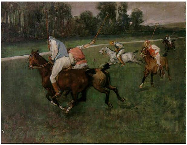Jeanniot, Joueurs de polo