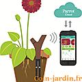 Notions de plantes et jardins connectés...