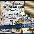 Kit fun and scrap créaisa janv. 2016