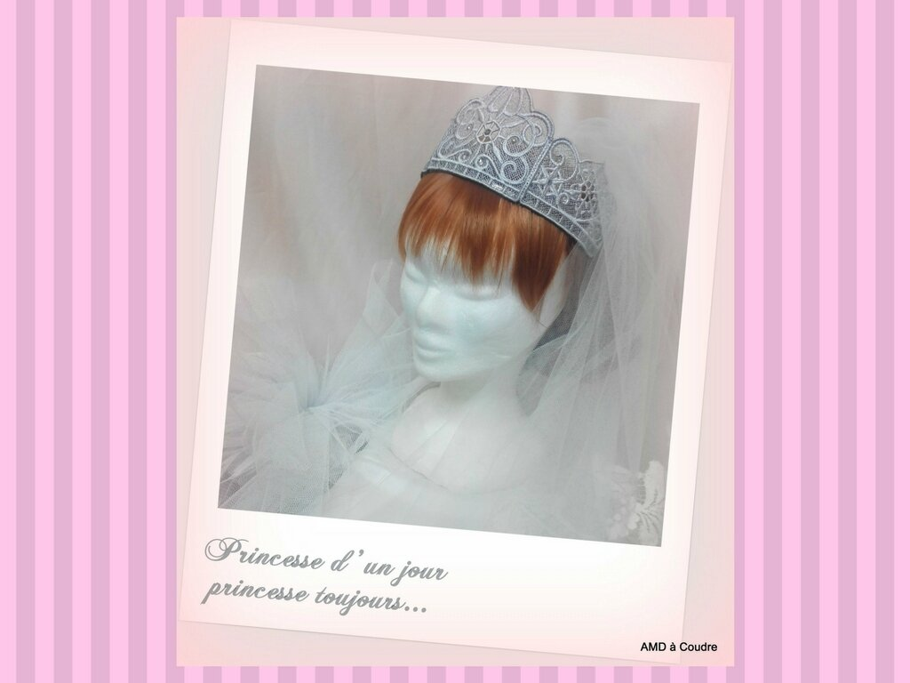MARIAGE WEDDING ACCESSOIRES BRODERIE DENTELLE AMD A COUDRE (14)