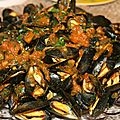 Moules saveurs marocaines