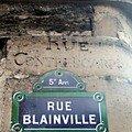 Rue blainville
