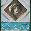 11 Vintage scrap pour Lutin Bleu Cadeau