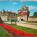 St Porchaire - chateau la Roche Courbon - forteresse féodale
