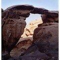 Wadi Rum argentiques juillet 2005 Arche