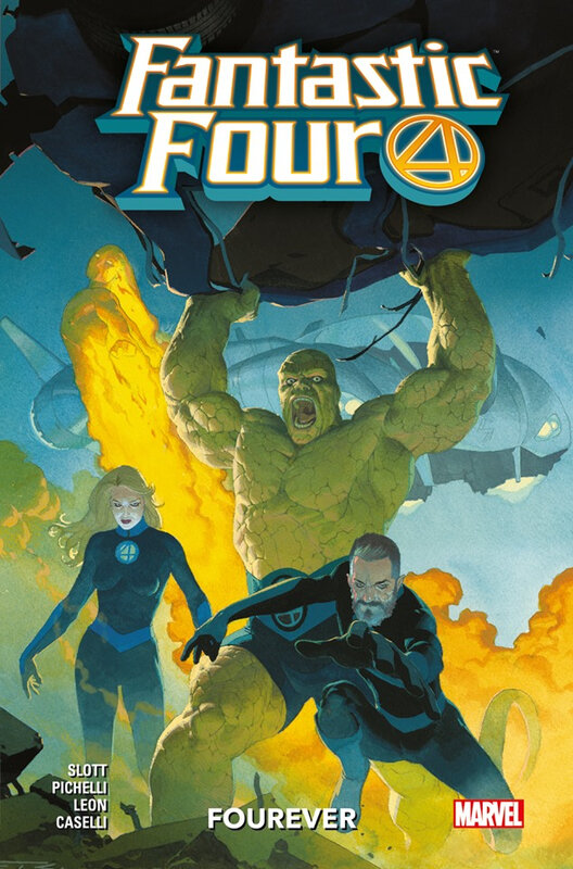 100% marvel fantastic four 01 fourever