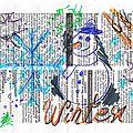 Draw on monday #32 : hivernal