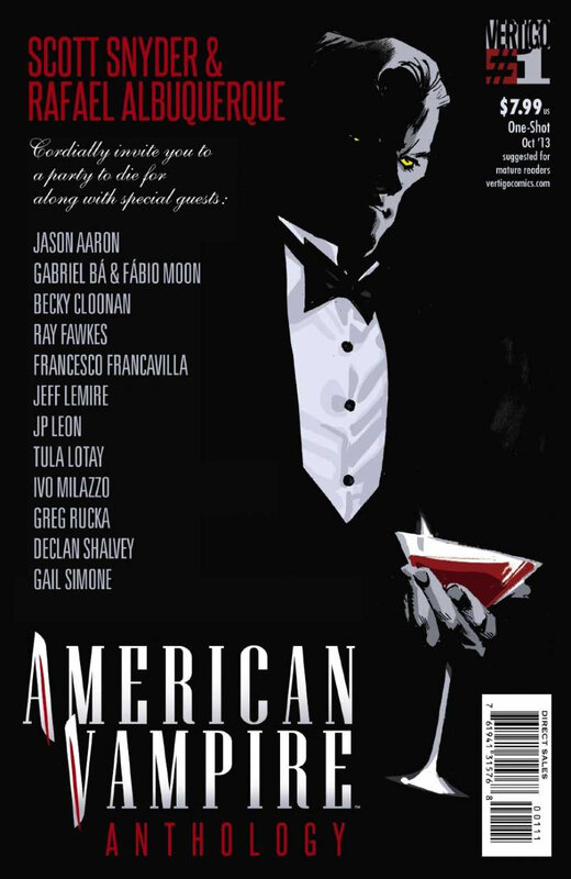 vertigo american vampire anthology 01