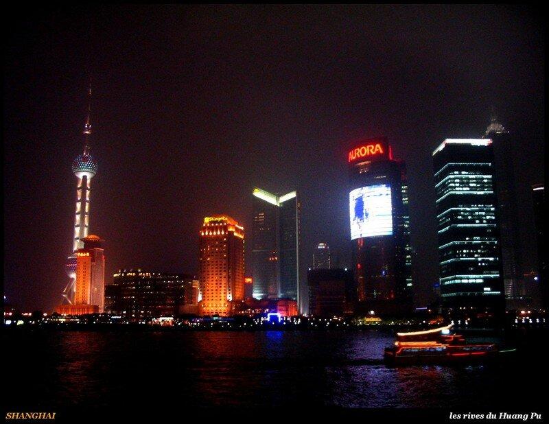 SHANGHAI - les rives du huangpu