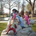 Mes quatre chéries réunies