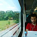 TRAIN 8 de ZURICH à MUNICH