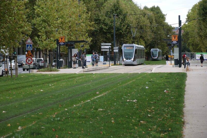 Passagers du tramway