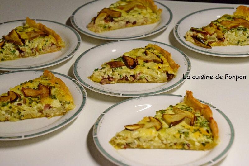 tarte poiro champi (2)