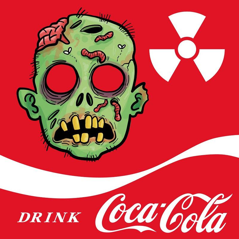 labels - Halloween - Apothecary - Coca Cola - zombie - Printables - biohazard - anivairsary - D