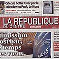 Parution : la république du centre - salon des loisirs créatifs d'orléans - 31/01/16 - adeuxmains