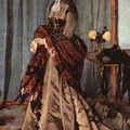 Claude Monet - Madame Gaudibert