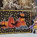 Citrouilles d'halloween chant des sorcières