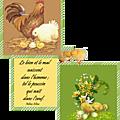 Pâques : le bien et le mal naissent dans l'homme ; tel le poussin qui naît dans l'oeuf (peline elin)