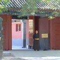 Moine Tibétain à la porte