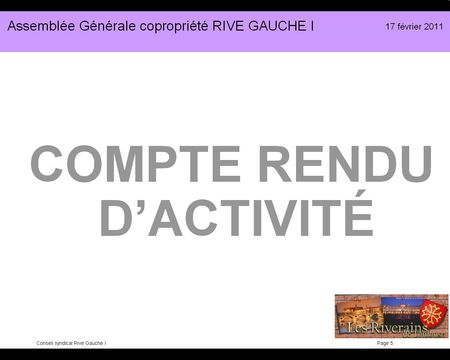 Diapo présentation RG1-2011 05