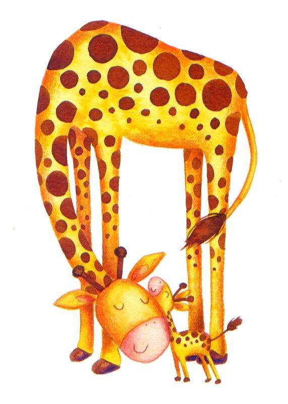 girafe-new baby
