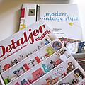 Sélection livres ❤ intérieurs & déco vintage …
