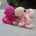 Test crochet - kawaii octopus...