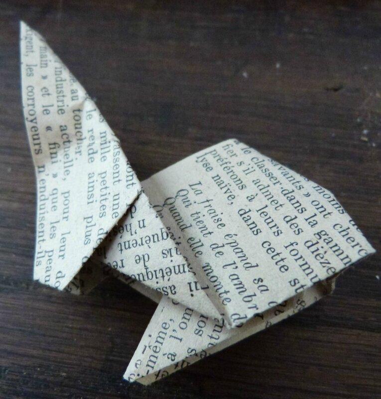 Tuto lapin origami papier ancien (28)