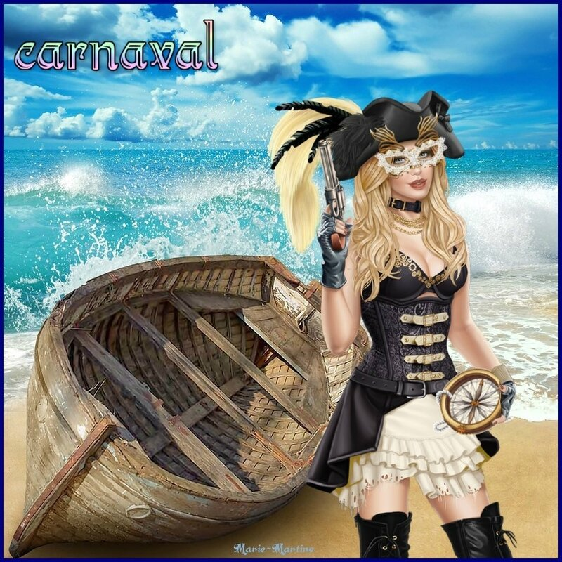 femme pirate carnaval
