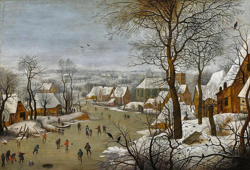 1323px-Pieter_Brueghel_II_-_Winter_Landscape_with_a_Bird_brueghel le jeune